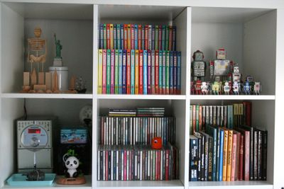 Expedit Cd chez larsson: reorganizing wille's expedit i