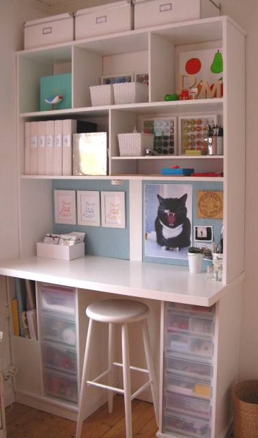 Craft Room Organization in Small Spaces